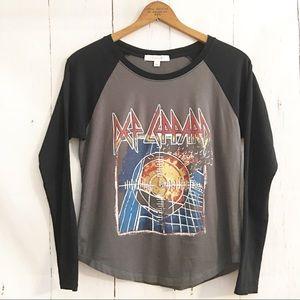 Daydreamer Def Leppard Band Tee T-shirt S